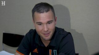 """""""It's an honor,"""" UM quarterback coach Jon Richt talks about working with his dad"""