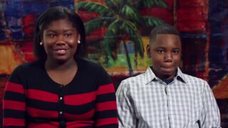 Siblings Antonio, 13, and Zakiyah, 15, hope to find a forever home