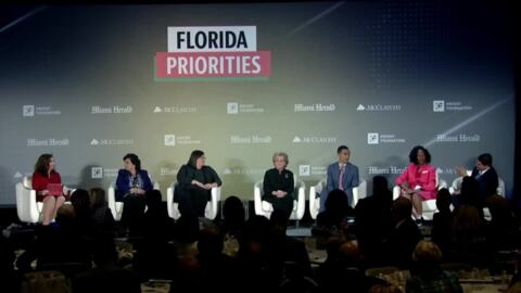 See the state's most pressing topics come to life at the Florida Priorities Summit
