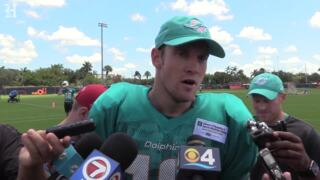 Miami Dolphins QB Ryan Tannehill says the preseason game with the Ravens will be the dress rehearsal