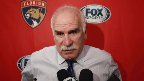 Coach Joel Quenneville on the Panthers' improbable comeback