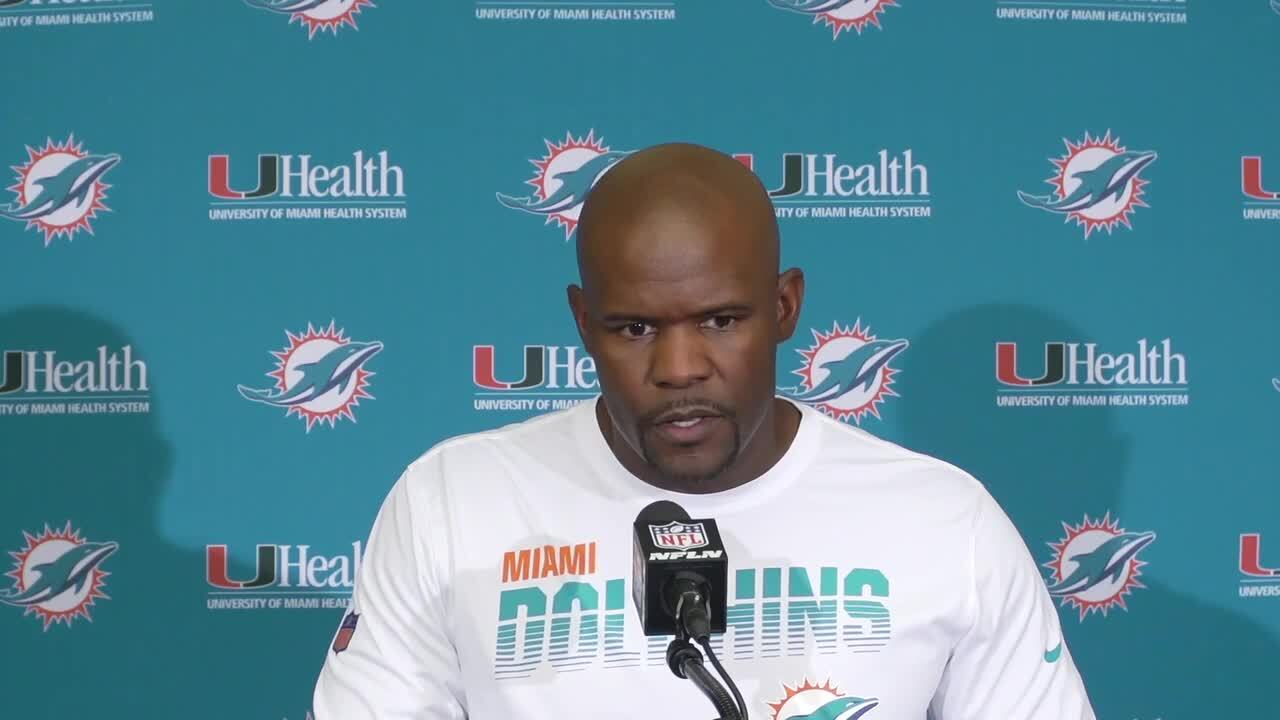 Brian Flores making the Dolphins better, helping them to victories can never be a bad thing