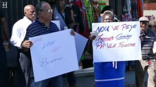 These small business owners in Little Haiti are being evicted. They say it's discrimination