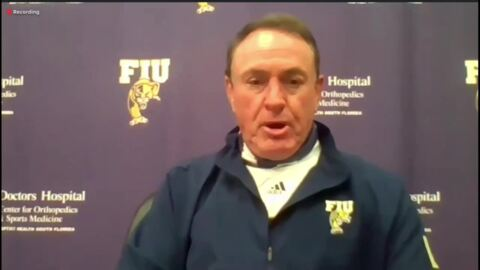 After having some COVID-19 'peaks', FIU football finally ready for its season-opener