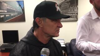 Marlins Don Mattingly after getting swept four games by Milwaukee