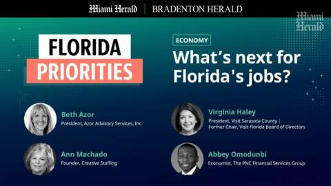 WATCH: Experts discuss the 2021 FL jobs and economy forecast | Florida Priorities Series