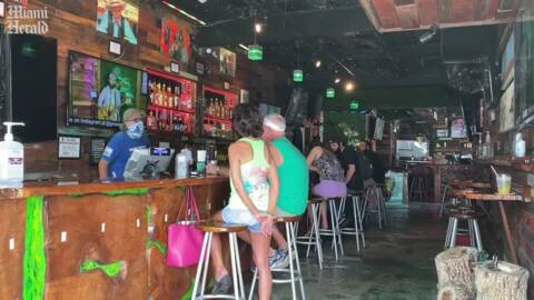 Key West bars reopen