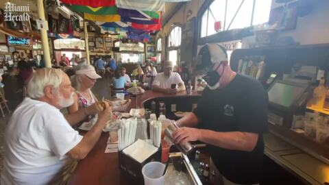 A famous bar in Key West reopens after six months