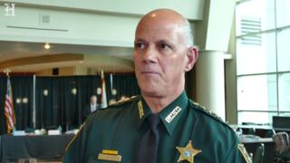 Commission chair and Pinellas County sheriff Bob Gualtieri