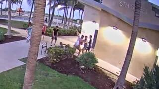 Video shows attack on Miami Beach after gay pride parade