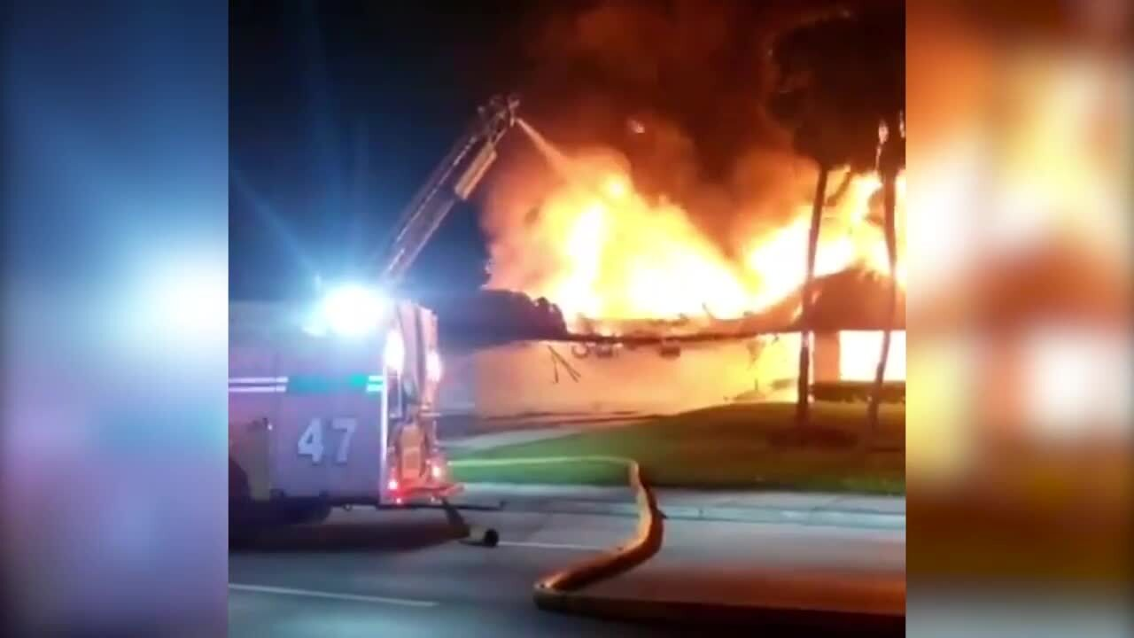 Fire engulfs part of Pet Loss Center of Miami pet cemetery
