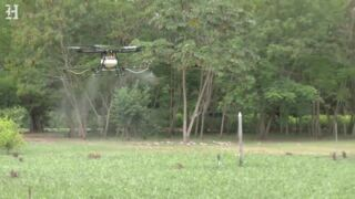 Colombia rolls out crop-killing drones in its war on coca