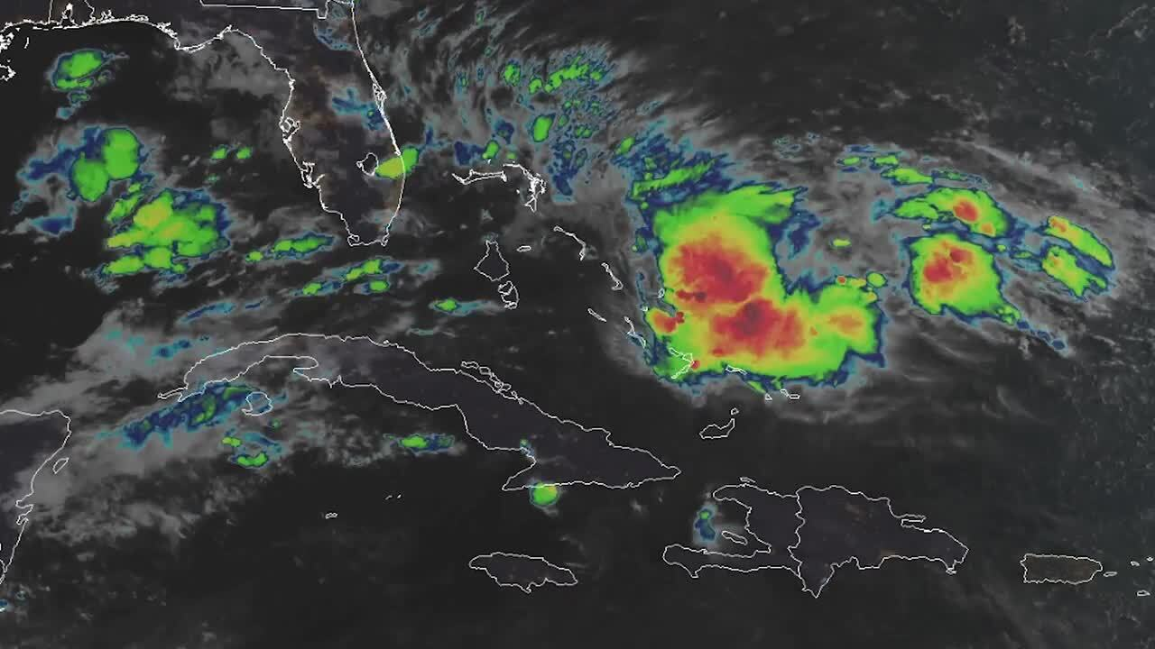 Tropical Storm Humberto forms off Florida's east coast, not expected to threaten U.S.