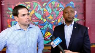 Tim Scott joins Marco Rubio in Miami to promote Opportunity Zones