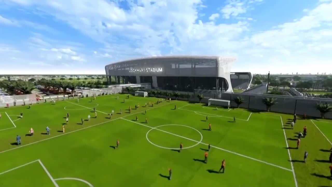 Beckham's Broward stadium plan pitches soccer without commercial development