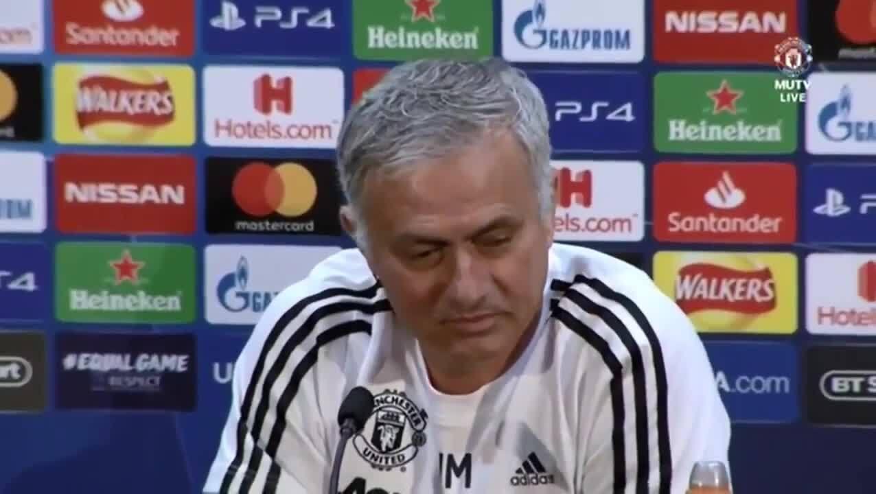 Jose Mourinho Was Brilliant In His Post Steven Gerrard Slip Interview