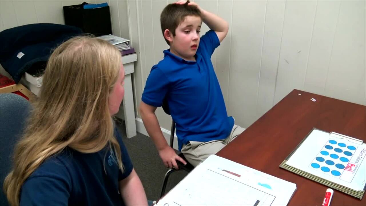 Aidan - Applied Behavior Analysis (ABA) Therapy with Social Interaction Exercise