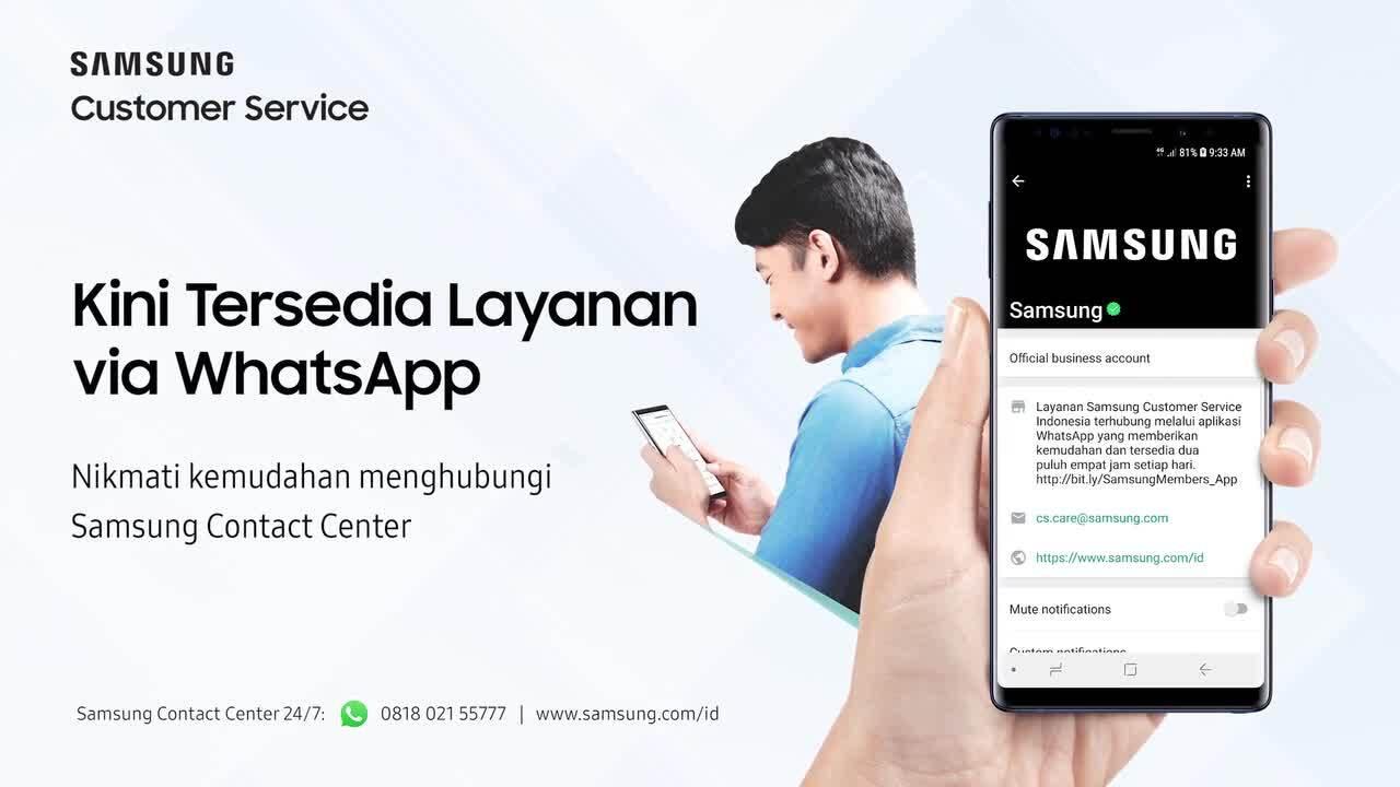 Layanan Remote Service Samsung Indonesia