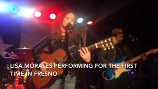 Lisa Morales performs in Fresno