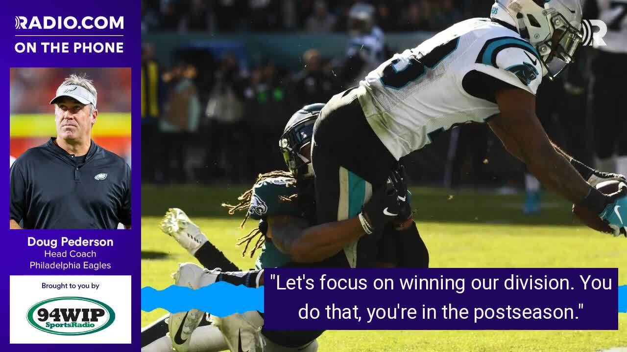 5b888466099 Doug Pederson's explanation for Eagles blowing 17-0 lead vs. Panthers | 94  WIP