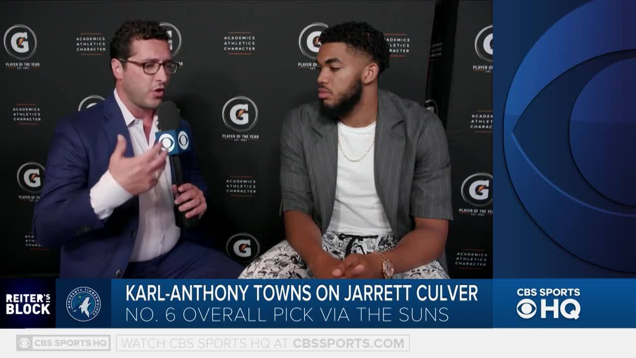Karl-Anthony Towns: Timberwolves Building