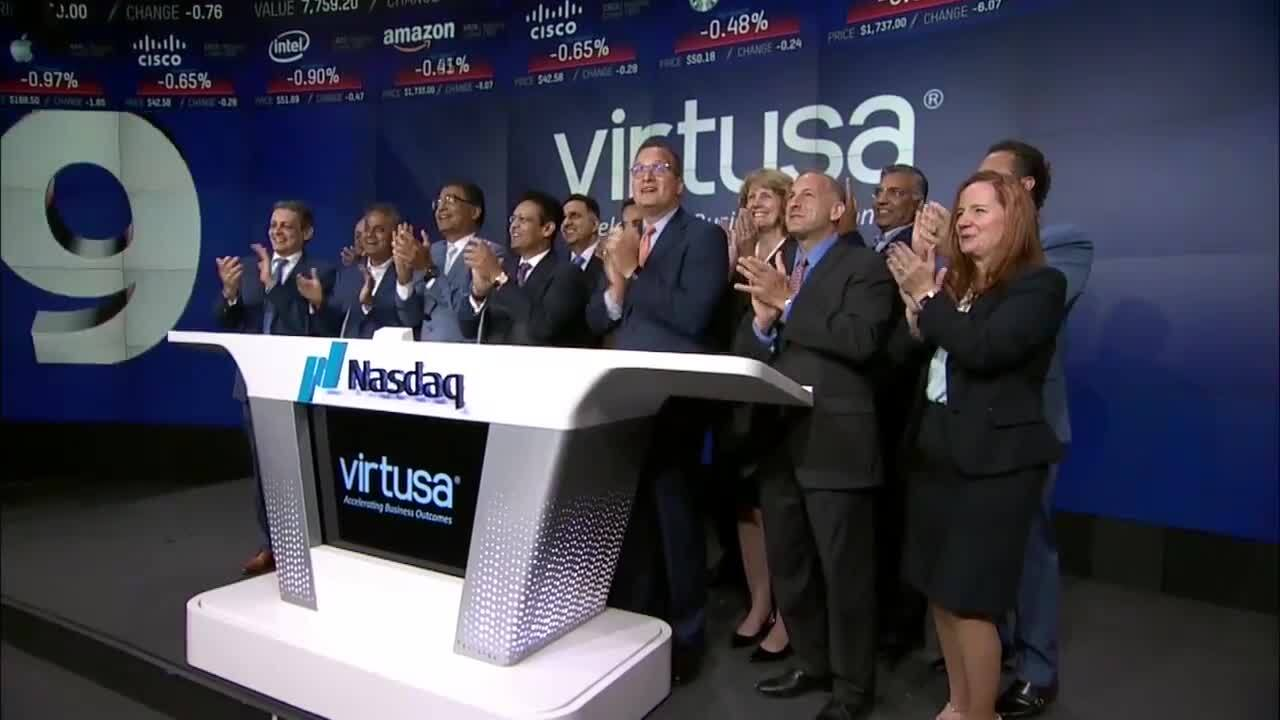 Virtusa-Nasdaq Bell Ring