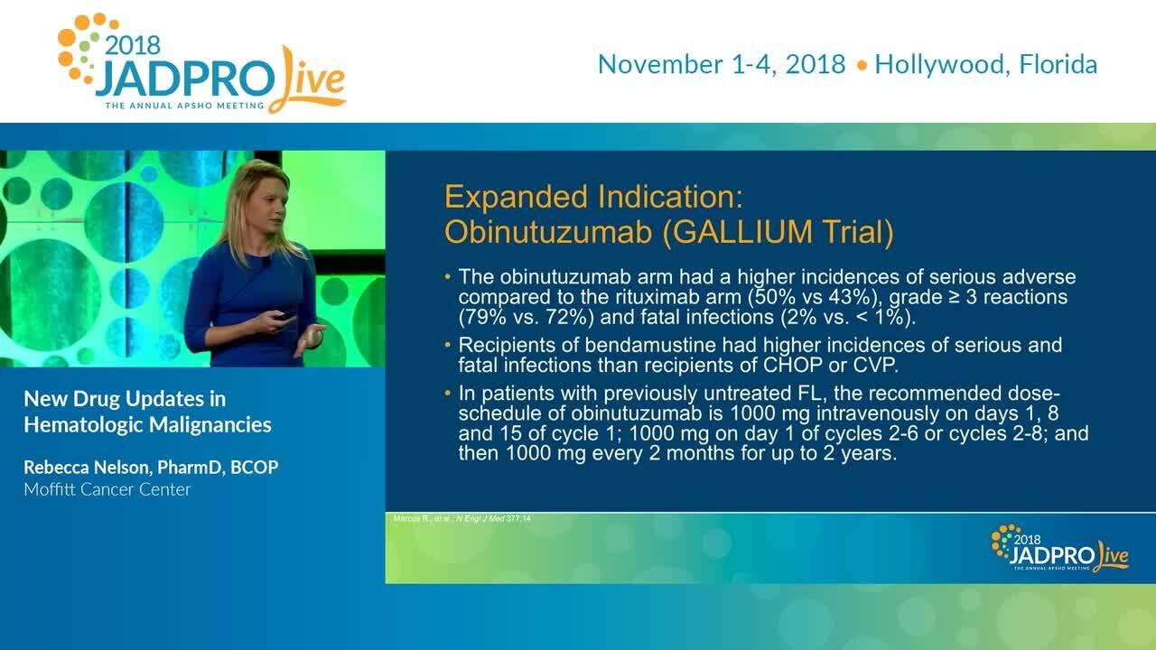 New Drug Updates in Hematologic Malignancies