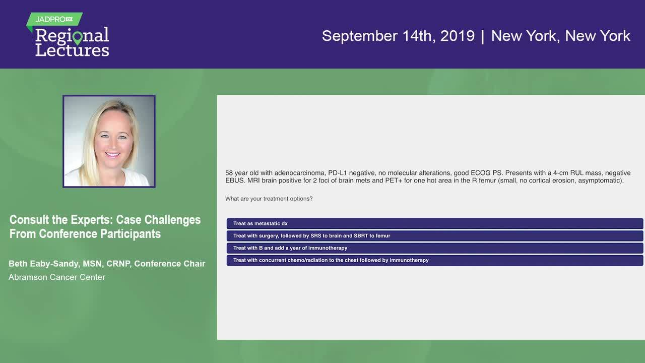 Case Challenges From Conference Participants