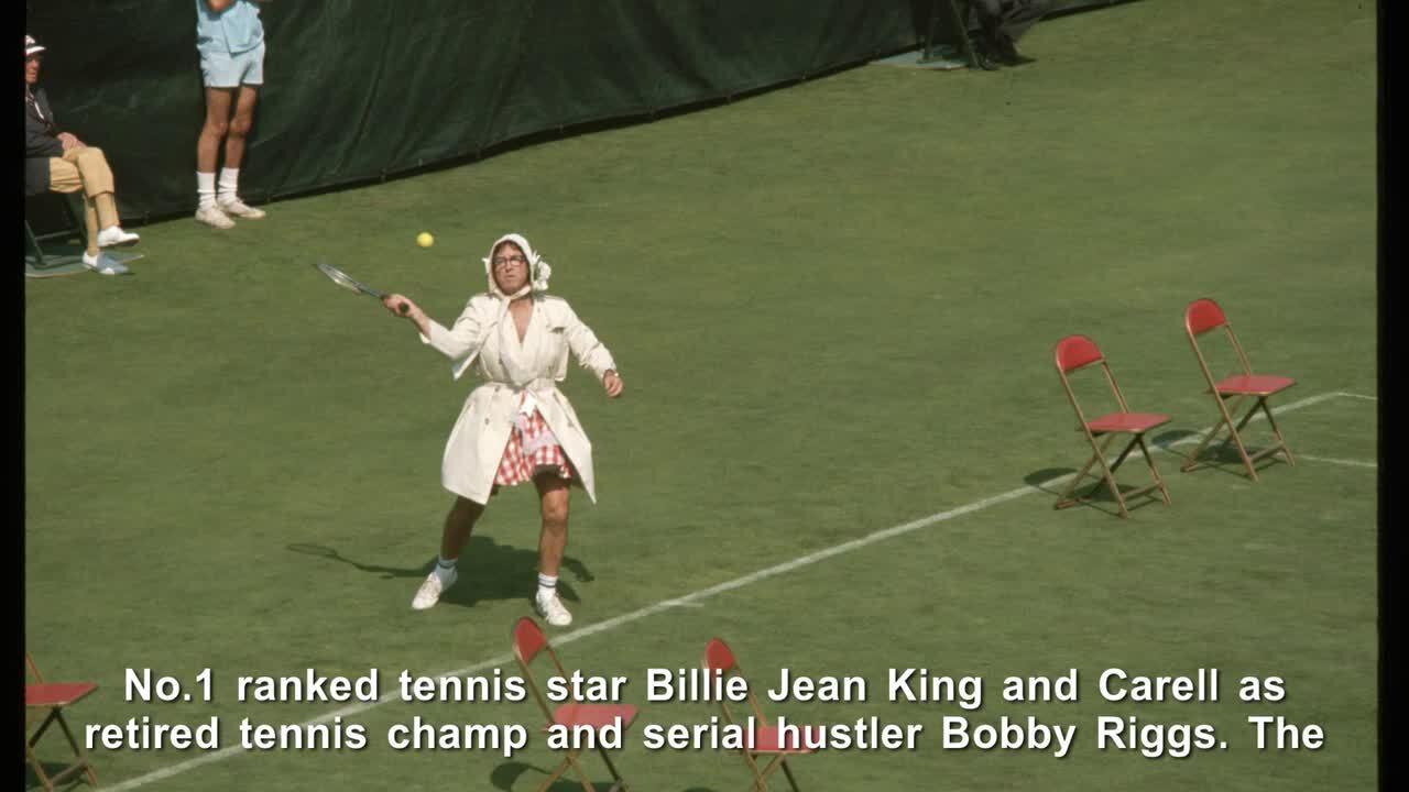 Emma Stone, Andrea Riseborough & Billie Jean King on Tennis