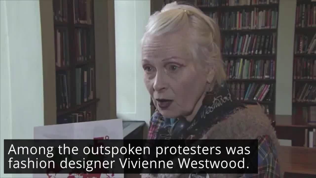 eb8c495e8e7 Vivienne Westwood Slams Trump's Climate Change Policies