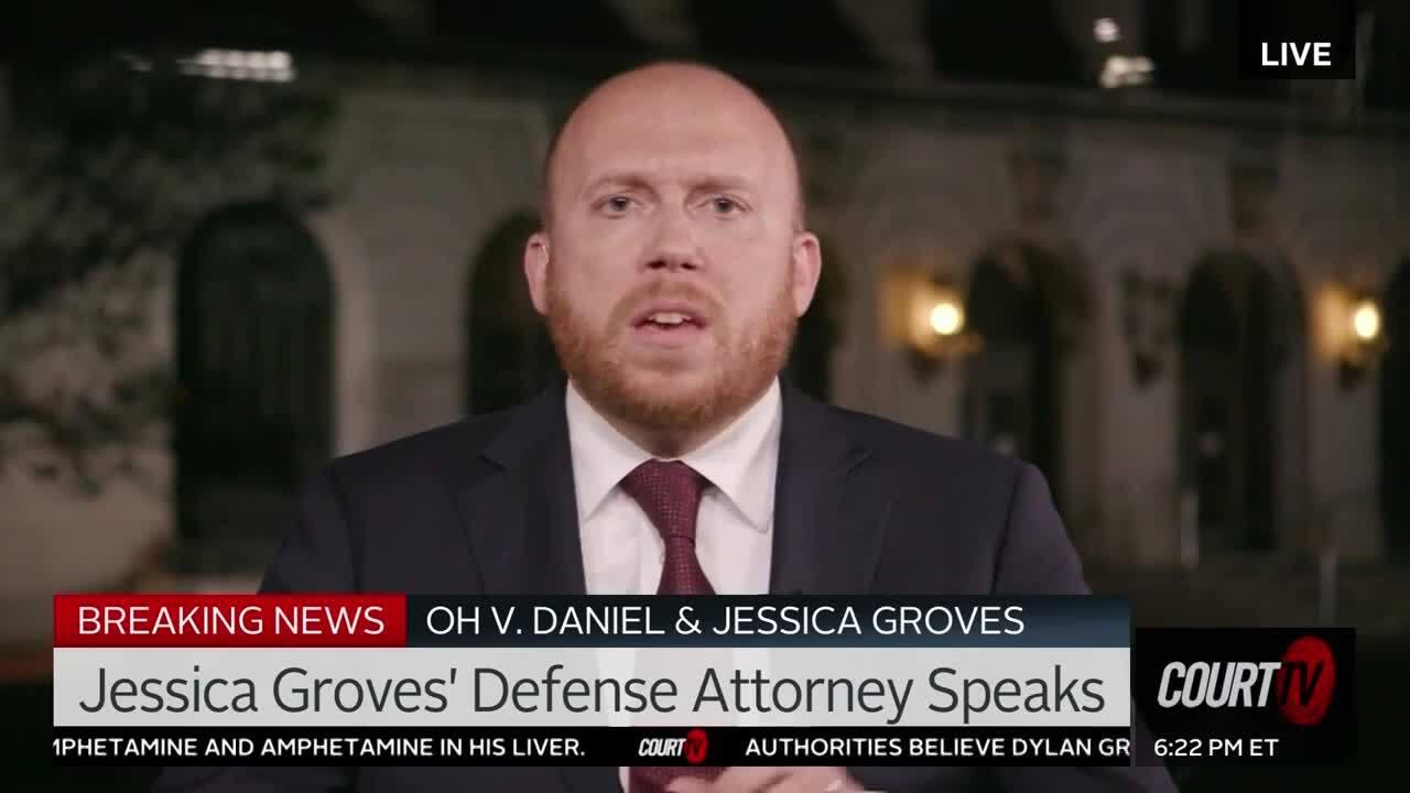Amber Simpson Videos 1/8/20 jessica grove's defense attorney speaks to court tv