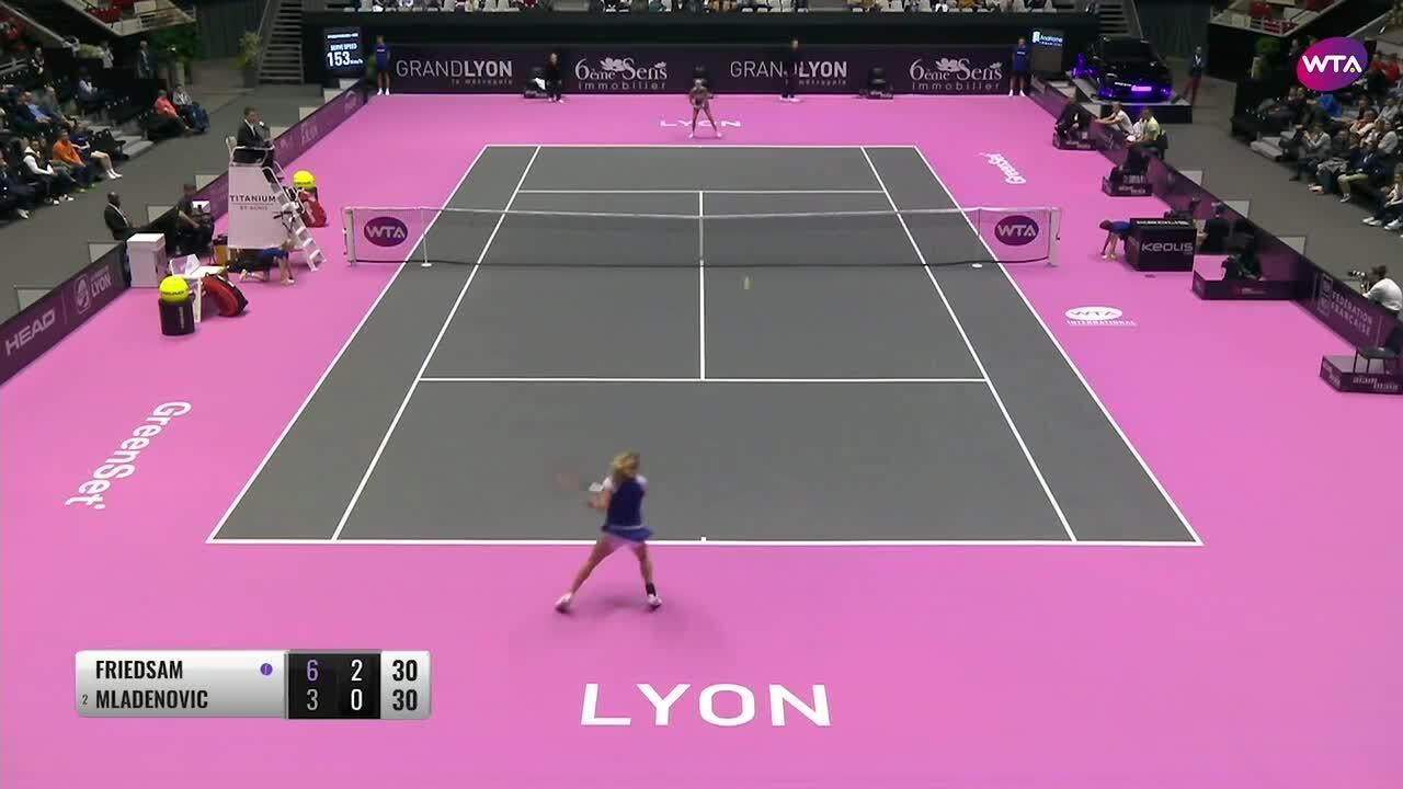Mellow Yellow Lyon 6Ème Lyon 2020 lyon highlights: friedsam battles past mladenovic