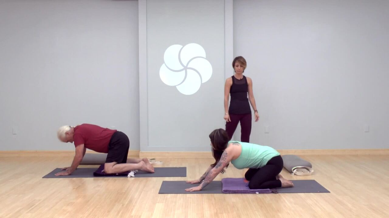 Therapeutic Practice for Upper Back, Neck and Shoulders