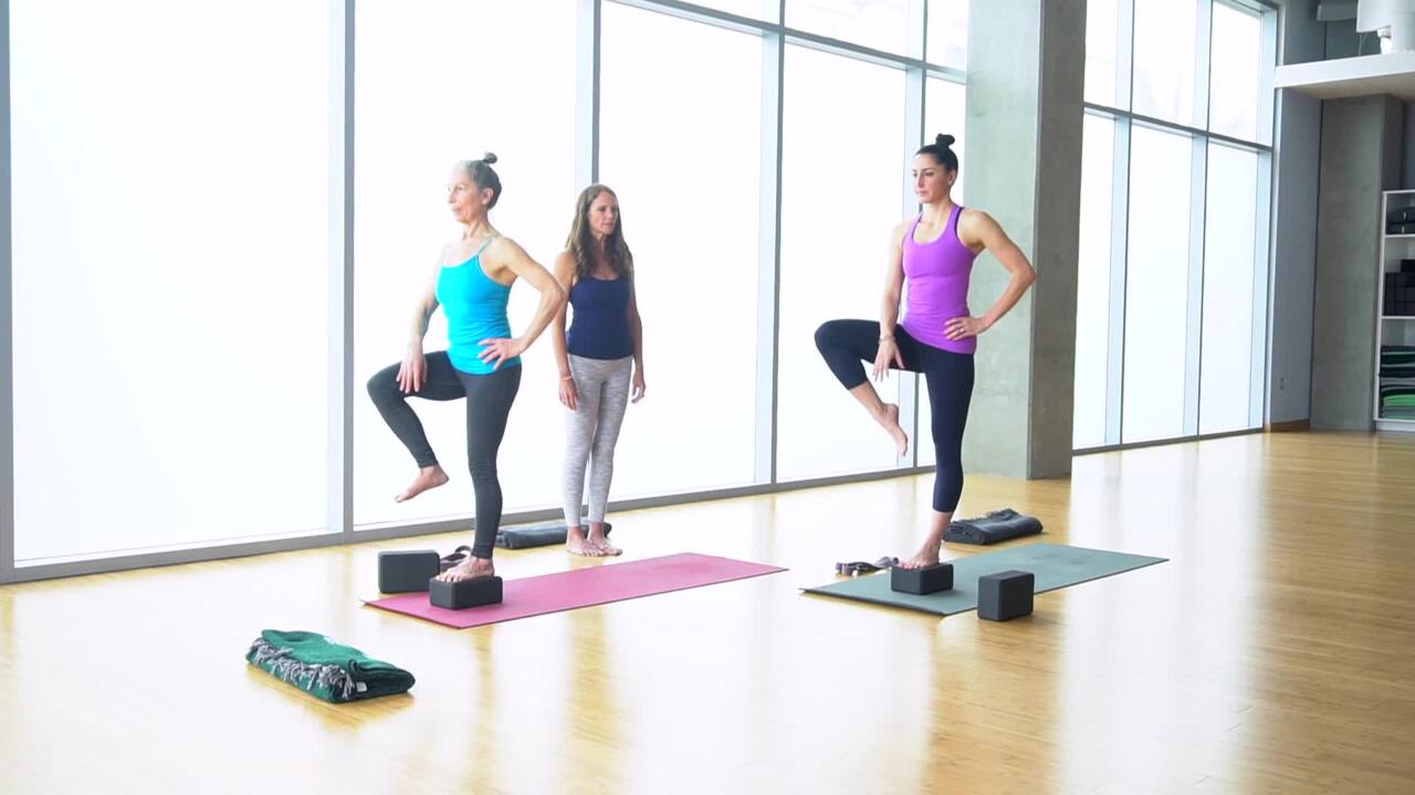 Hip Strengthening, Hip Stabilizing and Balance in Poses