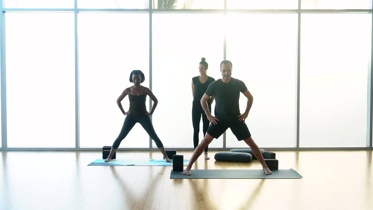 External Hip Openers in Standing Poses