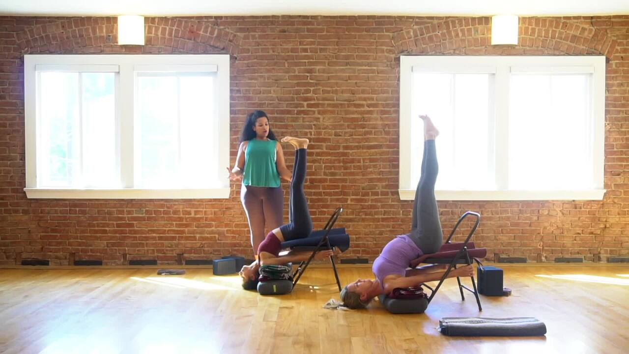 Chair Shoulder Stand
