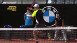 Hot Shot: Shapovalov Rips A Backhand Winner At Rome 2020
