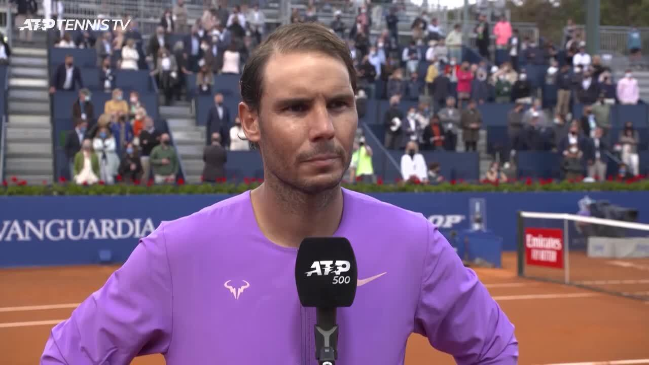 Nadal: 'I Never Played A Final Like This In This Tournament'