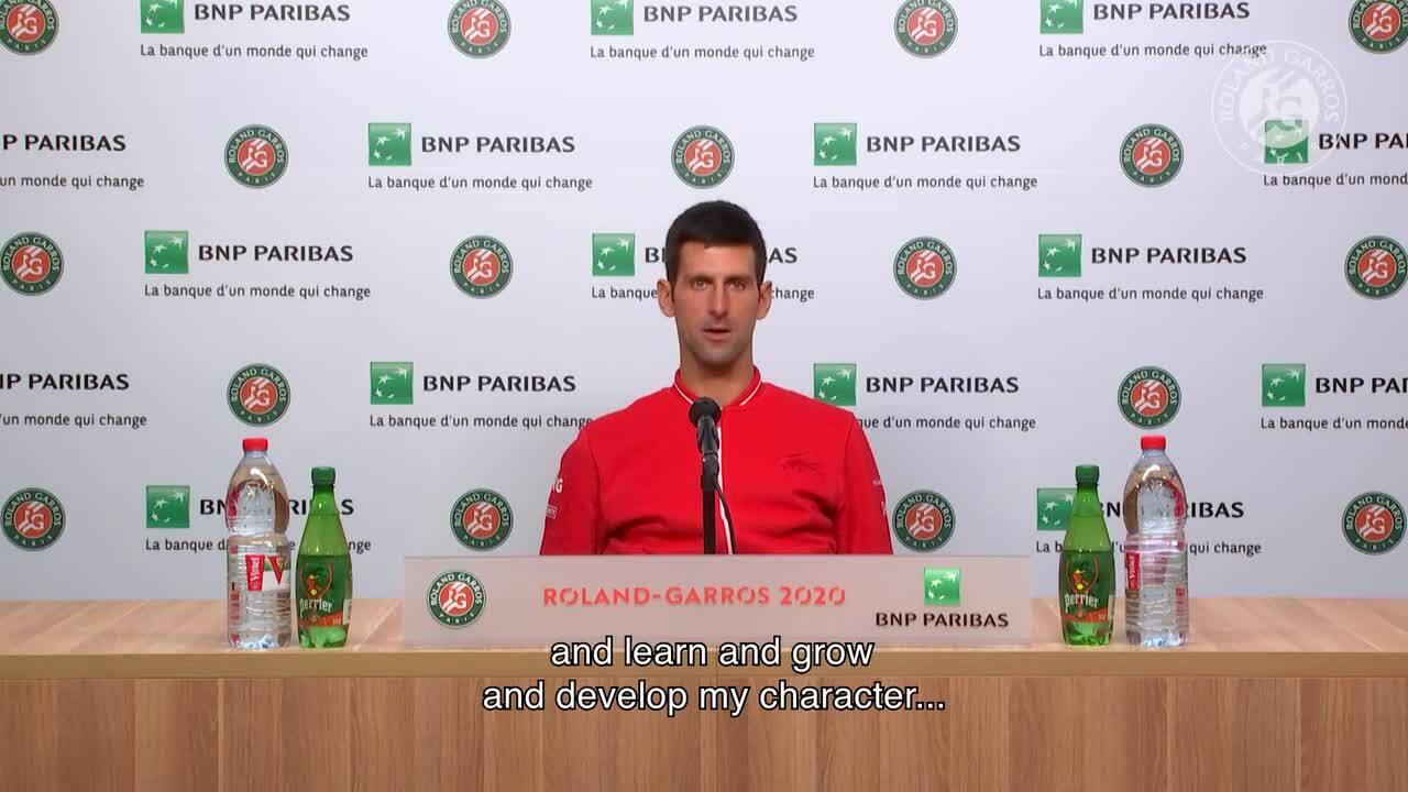 """Djokovic: """"Rafa Me Sorprendió, Jugó Un Partido Perfecto"""""""