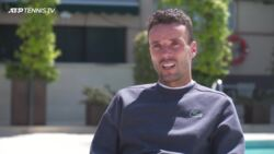 Bautista Agut: 'It's Very Special To Be In Barcelona'
