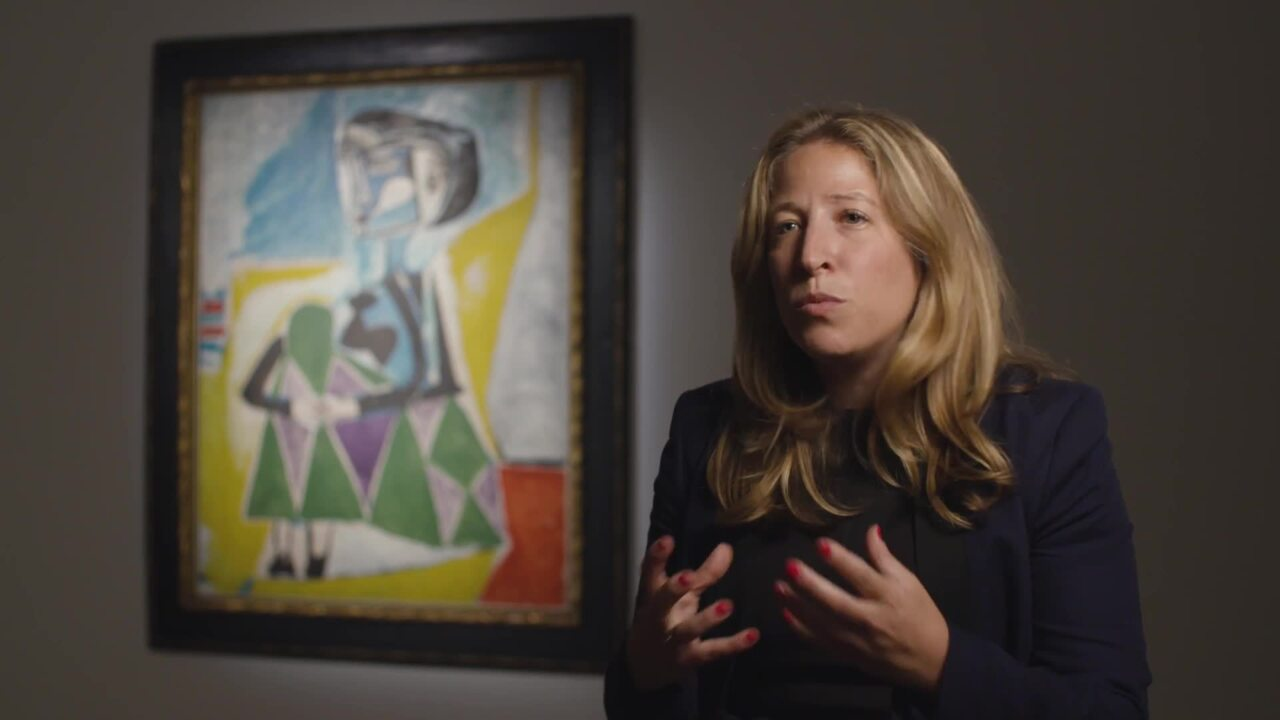 Picasso's Femme accroupie (Jac