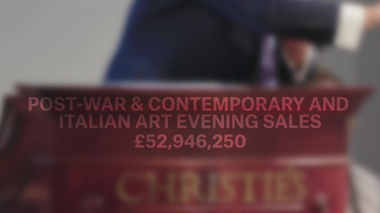 Christie's Frieze Week auction auction at Christies