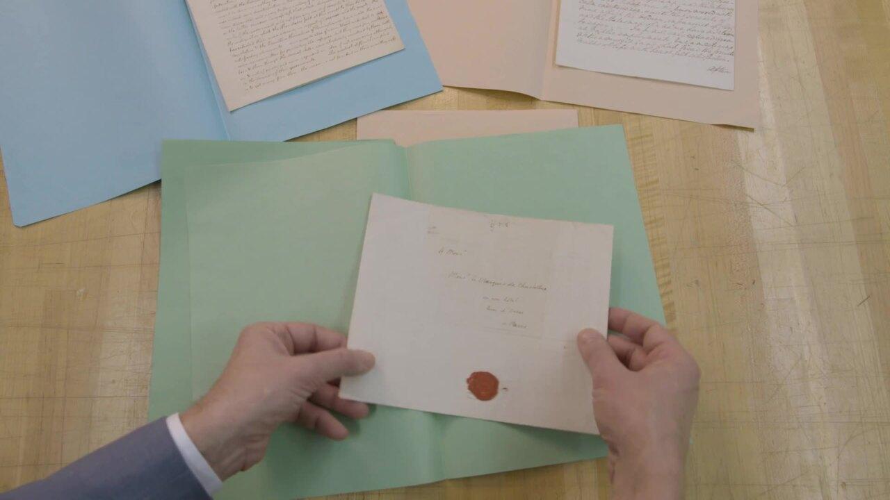 Washington and Jefferson: Lett auction at Christies