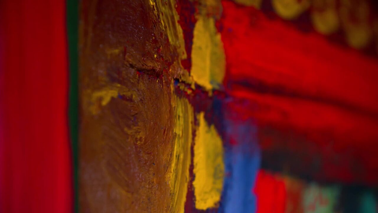 Howard Hodgkin: 'One of the ve auction at Christies