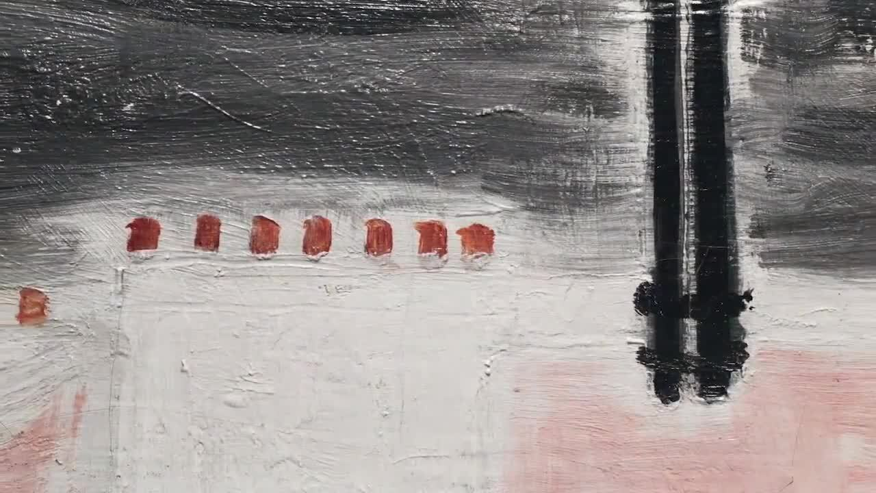 A closer look: Sanyus Paysage  auction at Christies