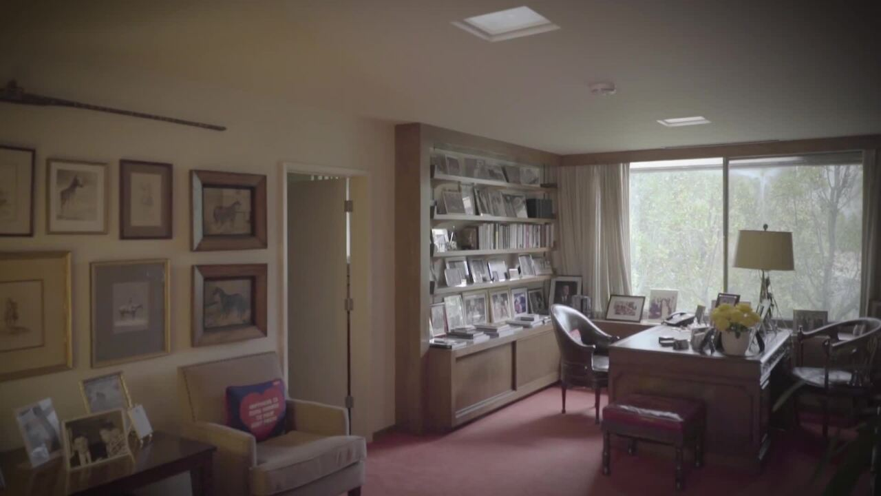 Inside the Bel Air home of Pre auction at Christies