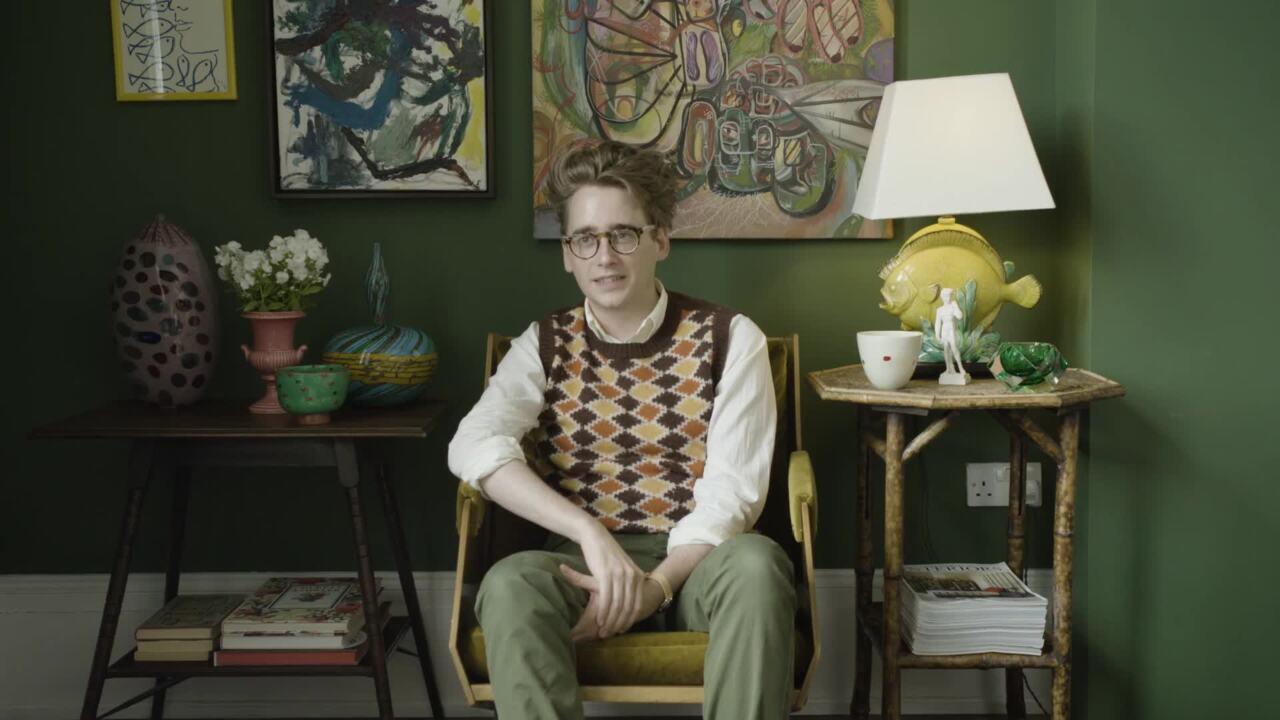 Luke Edward Hall's bright idea auction at Christies