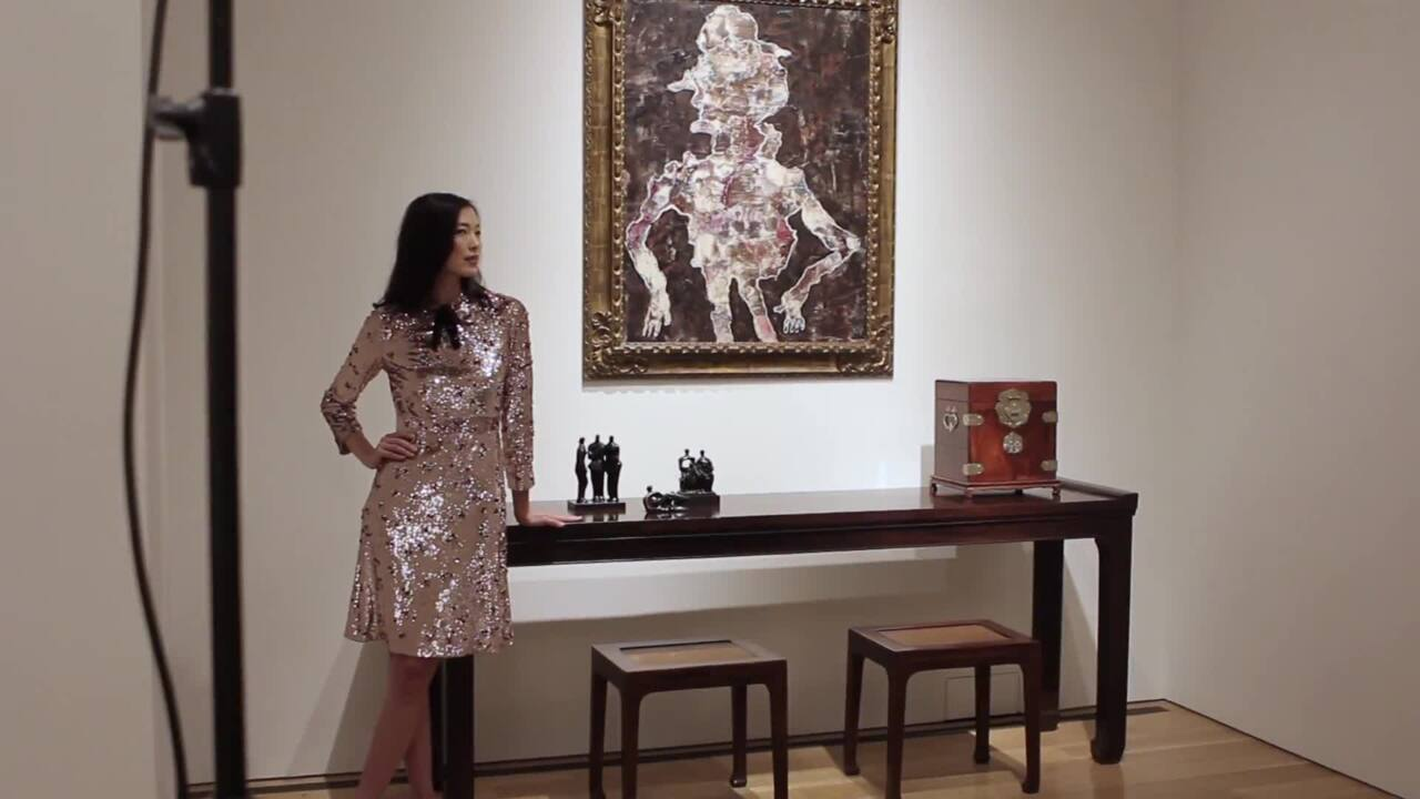 'I'm surprised to see how well auction at Christies