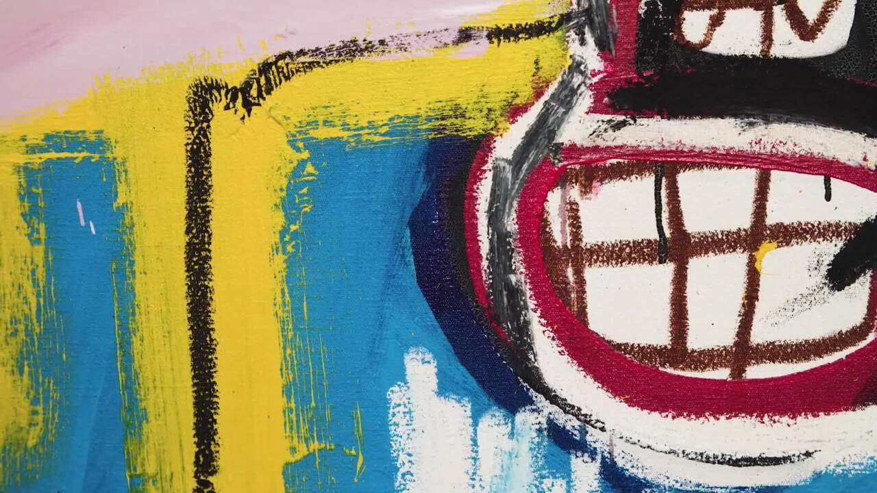 From the inside out —Basquiat auction at Christies