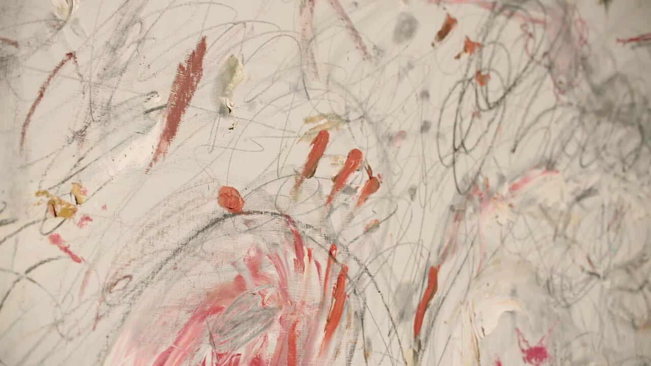 Cy Twombly's iconic embrace of